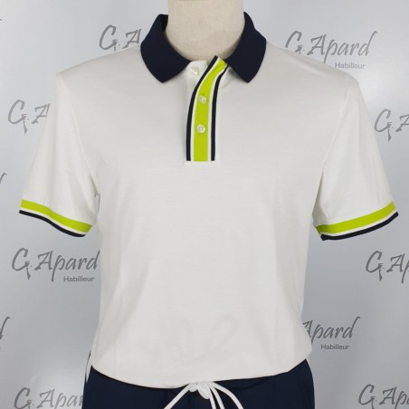 Polo en coton interlock...