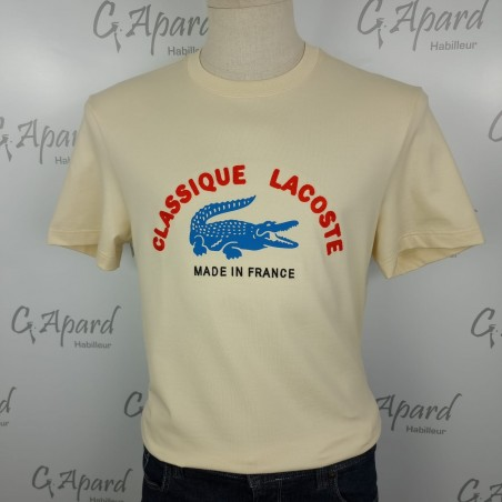T-shirt Made in France en...