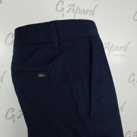 Pantalon chino slim fit en...