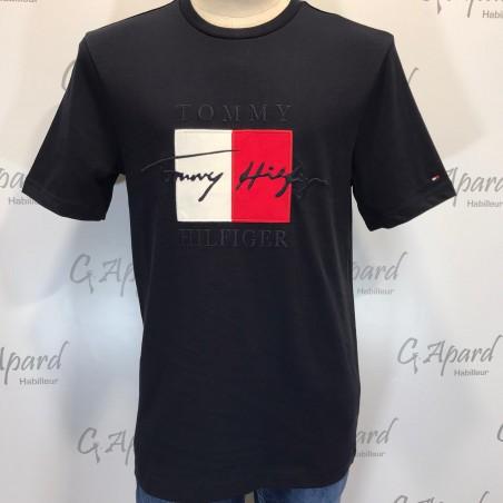 T-Shirt à logo signature...